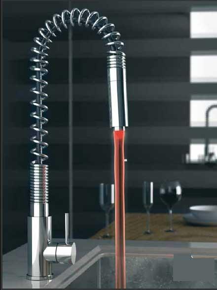 انواع شیرآلات چراغ دار دنیل Daniel مدل Suivi