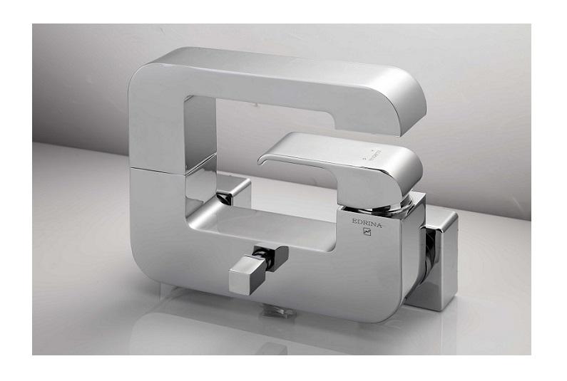 شیرآلات لاکچری ادرینا شیر حمام مدل G