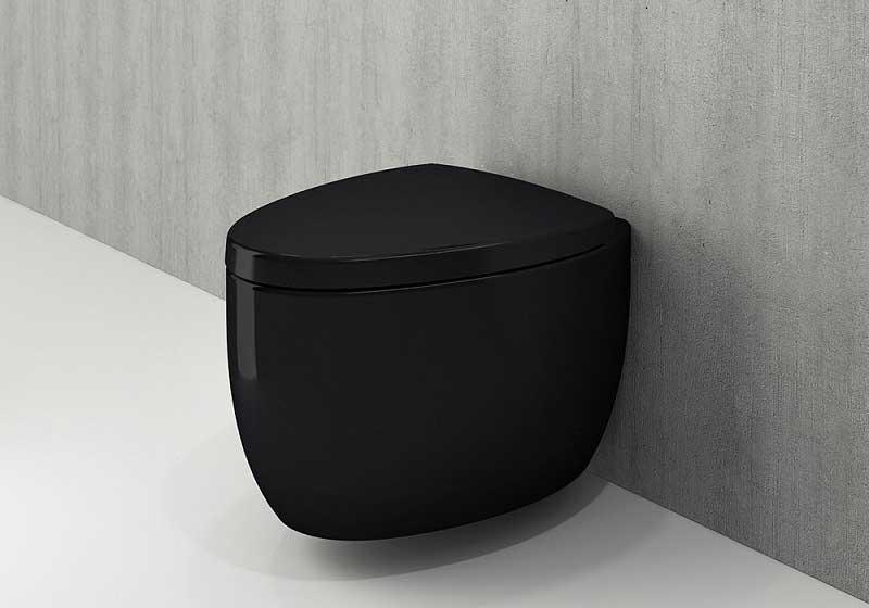 توالت وال هنگ مشکی بوچی Bocchi مدل Etna