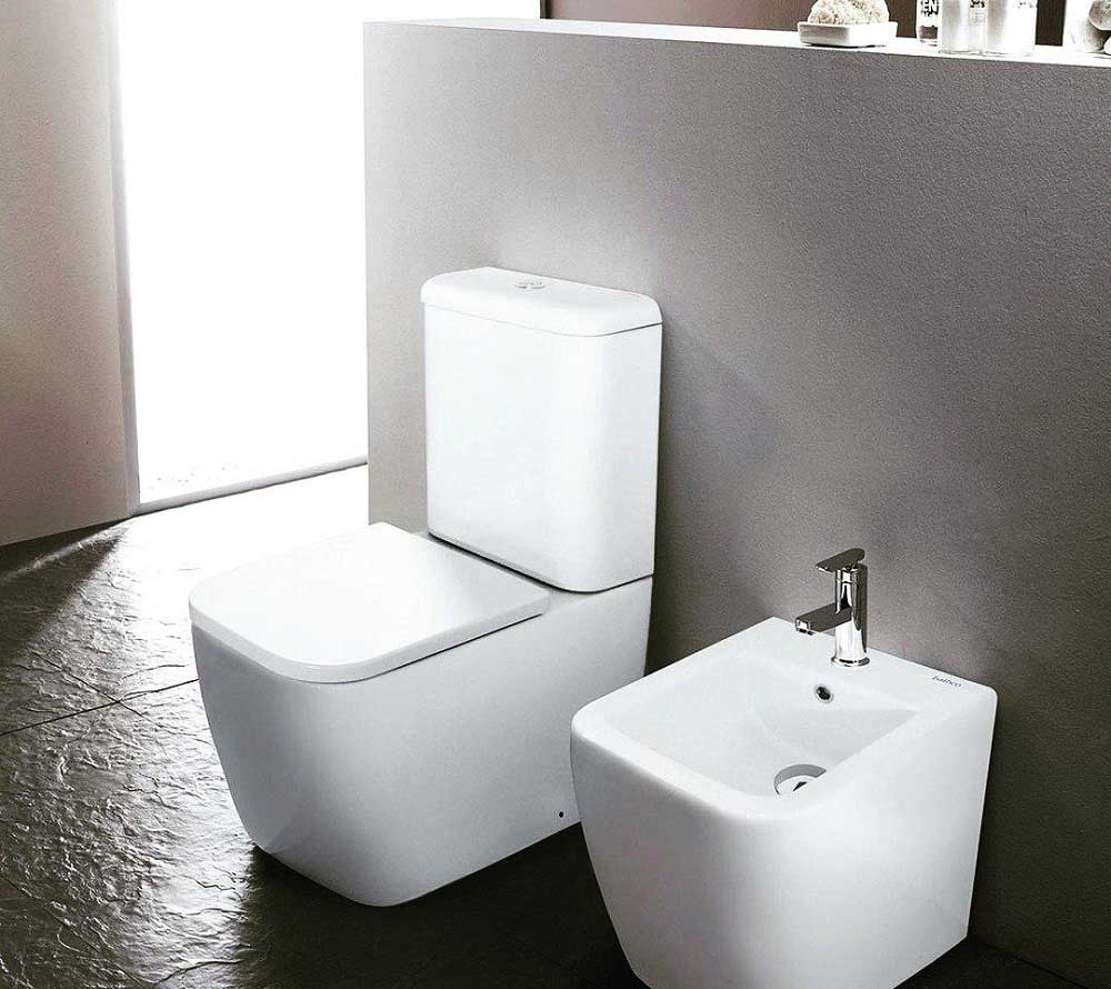توالت فرنگی روکار Bathco مدل New Toledo