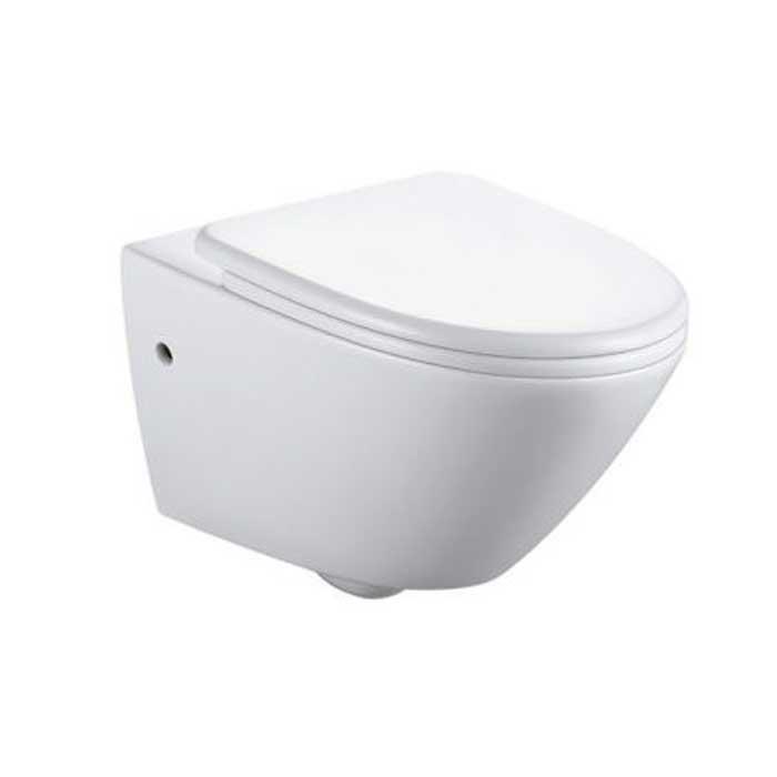 توالت فرنگی دیواری Bathco مدل Cascais